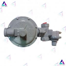 رگلاتور فشار خانگی مدل GS-74-27 ظرفیت 100 متر مکعبی گاز سوزان