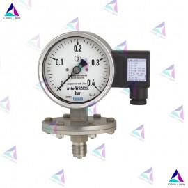 گیج فشار دیافراگمی الکتریکی(PRESSURE GAUGES WITH ELECTRICAL OUTPUT SIGNAL) ویکا(WIKA)