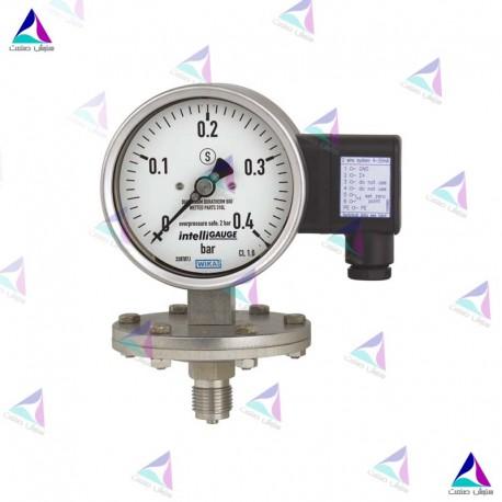گیج دیافراگمی  فشار الکتریکی(PRESSURE GAUGES WITH ELECTRICAL OUTPUT SIGNAL) ویکا(WIKA)