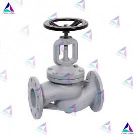 شیر کنترل جریان میوال PN 25 (flow valve with bellows MIVAL)