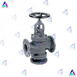 شیر کنترل جریان سه راهه میوال PN 16 (Three-way flow valve MIVAL)