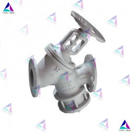 شیر چند منظوره سه راهه میوال PN 16 (Double function valve maintenance free with bellows MIVAL)