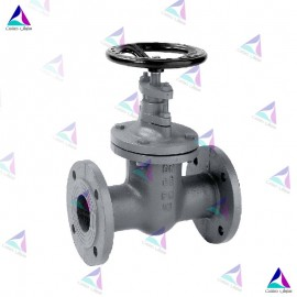 شیر کشویی میوال PN 40 (Oval body gate valve metal MIVAL)