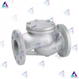 شیر یکطرفه (دیسکی) میوال PN 25 (flow check valve MIVAL)